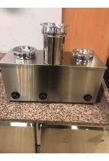 Bain-Marie-Hotpot 3x2,75 L (Neu !!)