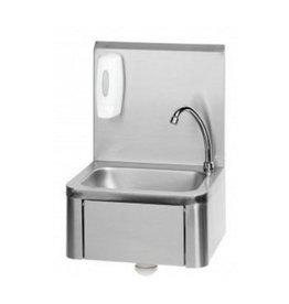RVS Handwaschbecken aus Edelstahl mit Kniebedienung