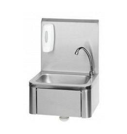 RVS RVS Handwasbak met Kniebediening (Nieuw!!)