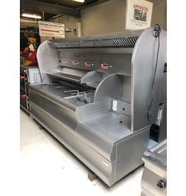 Perfecta Überholte Perfecta VR Backwand / Fritteuse mit Erdgas 72 kW