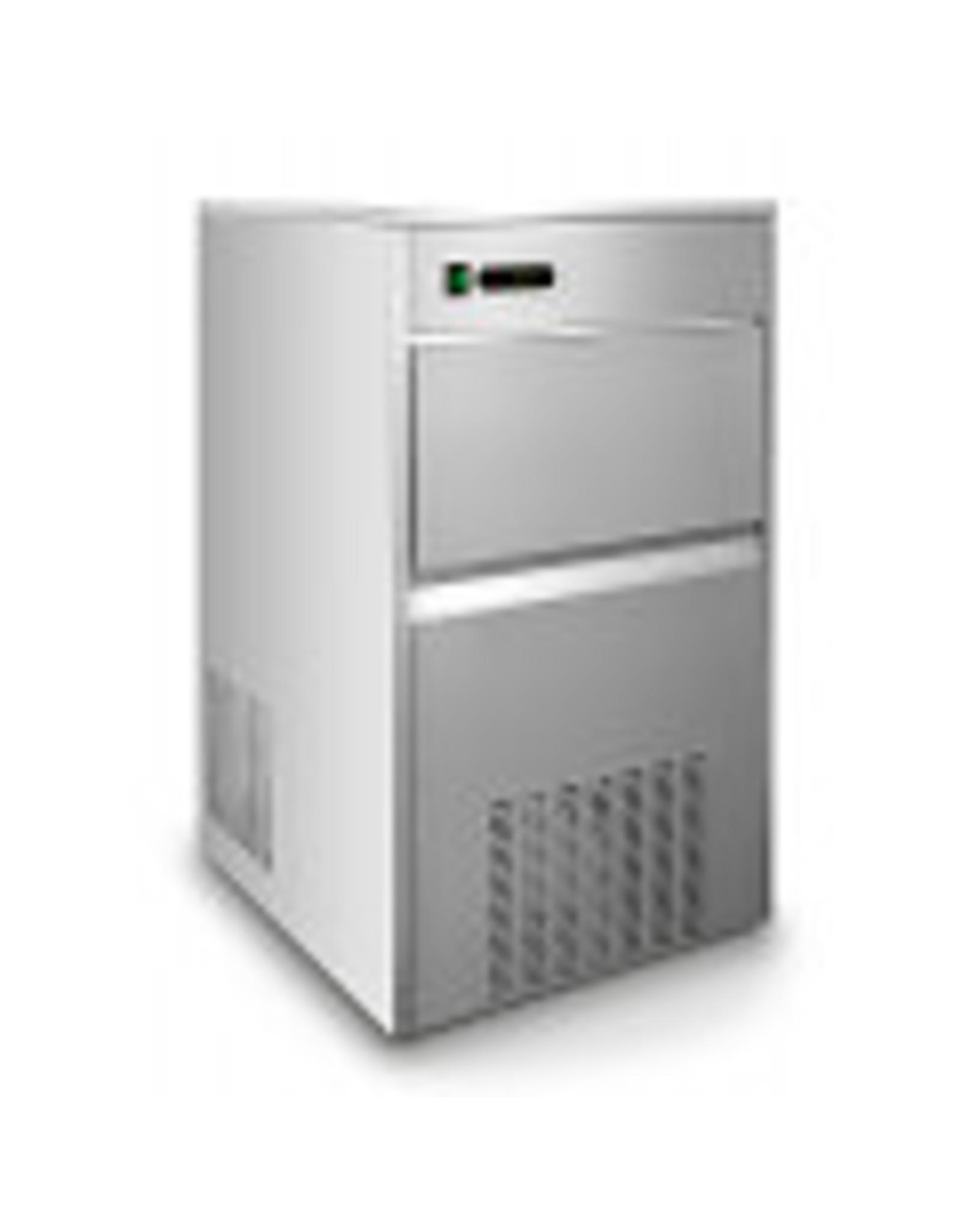 Q-Gastro Q-Gastro IM-120 IJsblokjesmachine 120 kg / 24h 230V (Nieuw)