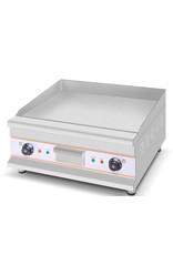 Q-Gastro 2 Zone Chroom Elektrische Bakplaat 400V (NIEUW)
