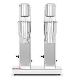 Q-Gastro Q-Gastro Milchshaker / Getränkemischer Double Cup - 2 Geschwindigkeiten (neu)