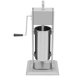 Q-Gastro Q-Gastro Worstenvuller 7L - Verticaal - RVS - 4 Vulbuizen (Nieuw)