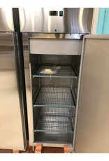 Q-Gastro Q- Gastro Solide RVS enkel deurs vrieskast op poten(Nieuw!!)
