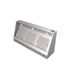 Q-Gastro Dunstabzugshaube aus Edelstahl NEU !! Beleuchtung + Filter 120x70x45