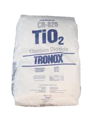 Pigmentpoeder Titaan wit (titanium dioxide)