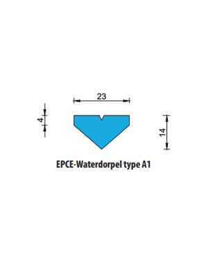 EPCE Waterdorpel A1, lengte 1 meter