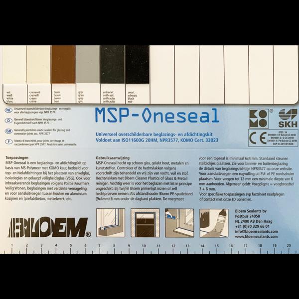 Bloem Sealants MSP-Oneseal Worst 600ml
