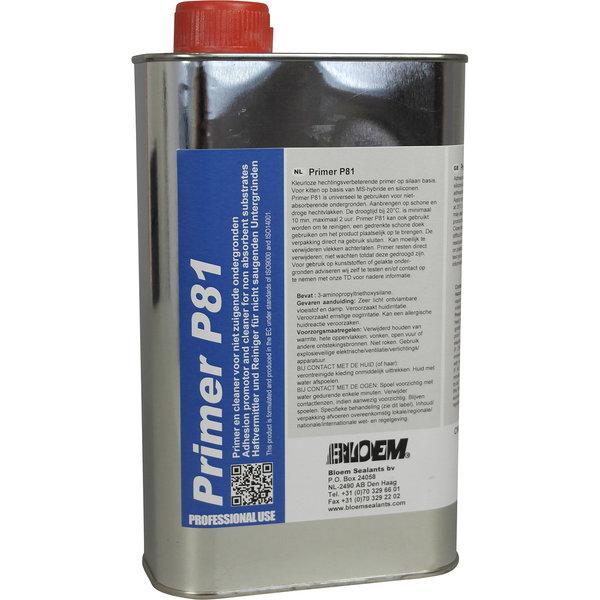 Bloem Sealants Primer P-81 Blik 1000ml