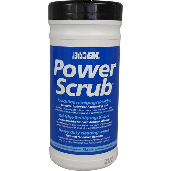Bloem Sealants Powerscrub reinigingsdoekjes 75x