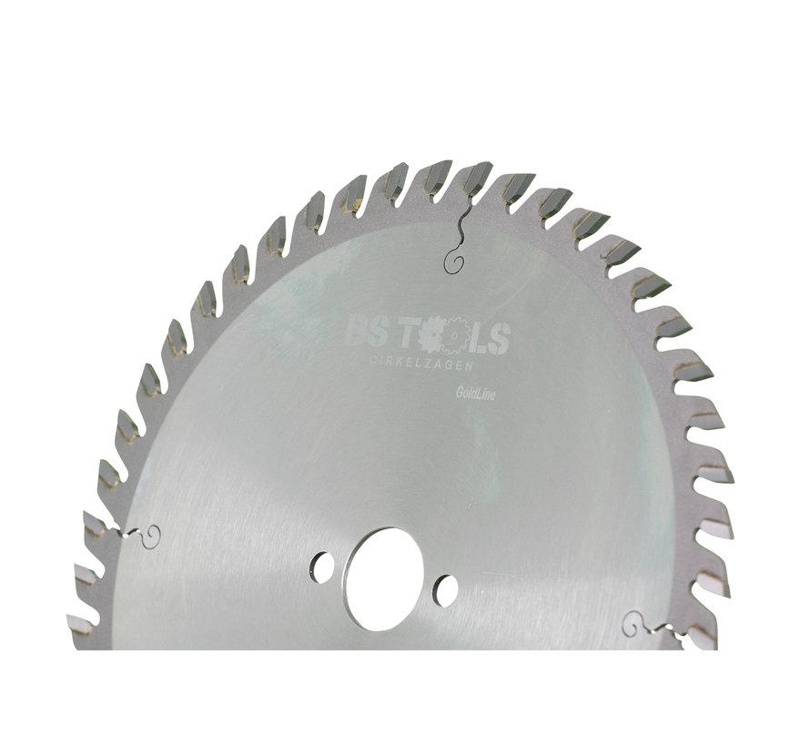 Circular sawblade GoldLine 136 x 1,5 x 20 mm.  T=36 alternate top bevel teeth