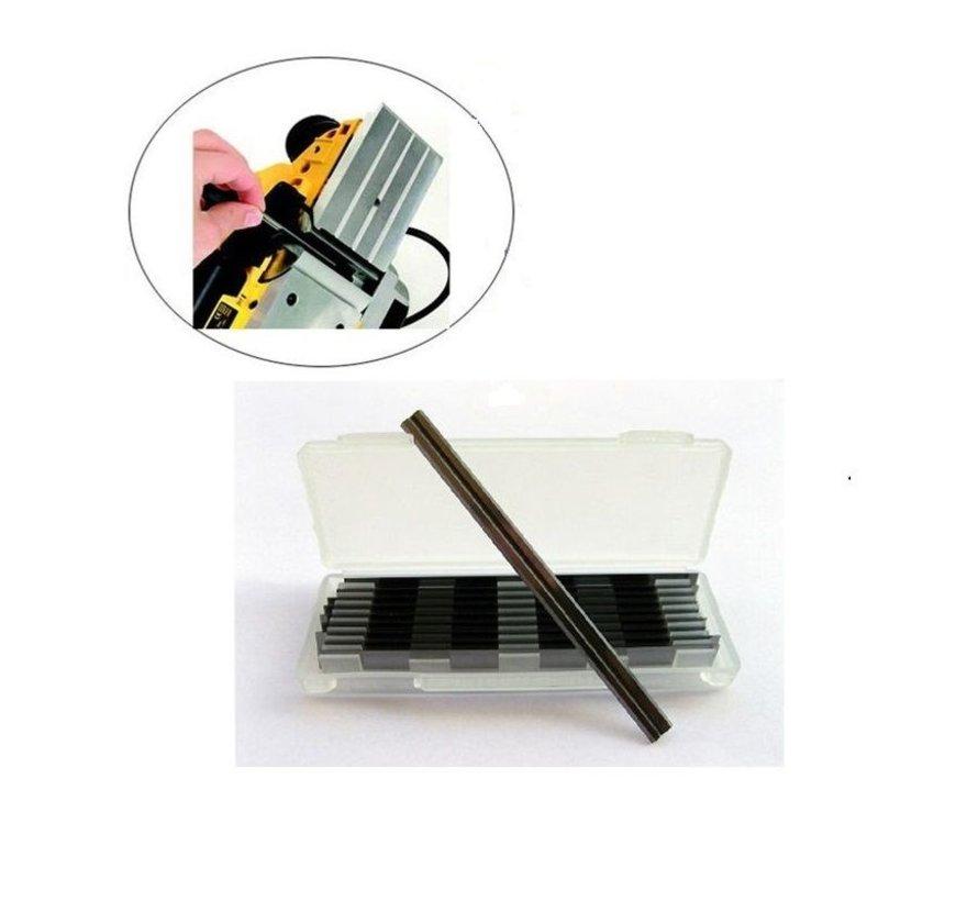HM wendeplatte 82 x 5,5 x 1,1 mm. (Box mit 10 Stück)