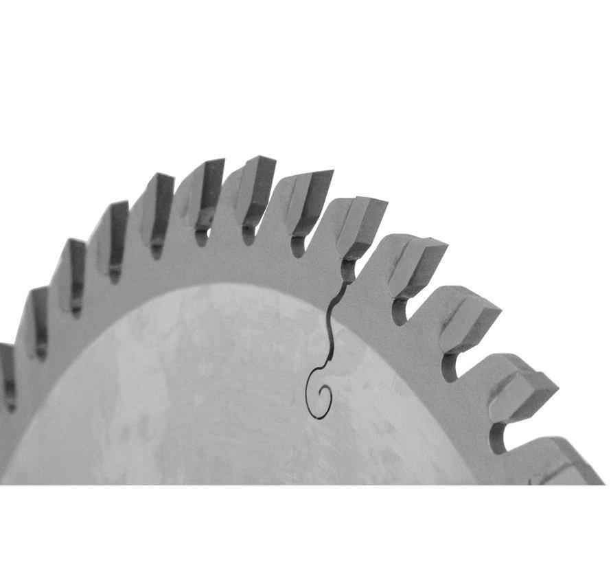 HM crikelzaag GoldLine 165 x 1,7 x 20 mm.  T=48 wisseltand
