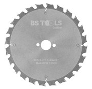 BS tools GoldLine Circular saw GoldLine 165 x 1,7 x 20 mm.  T=24 ATB