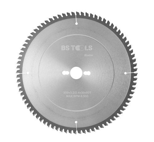 BS tools BlueLine Circular sawblade BlueLine 300 x 3,2 x 30 mm.  T=80 for aluminum