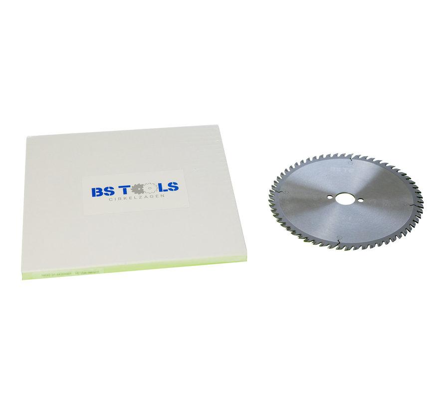 HM crikelzaag BlueLine 216 x 2,6 x 30 mm.  T=60 voor aluminium