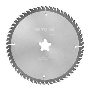 BS tools BlueLine HM zaag BlueLine 190 x 2,6 x FF mm.  T=60 LAMINAAT / HPL