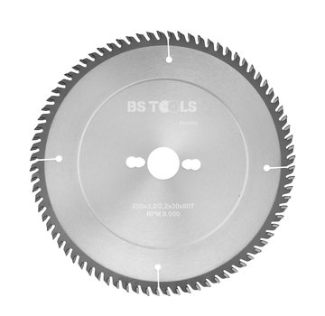 BS tools BlueLine Circular saw BlueLine 250 x 3,2 x 30 mm.  T=80 TCG pos.