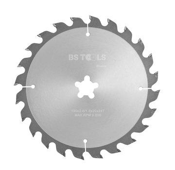 BS tools BlueLine Circular saw BlueLine 190 x 2,6 x FF mm.  T=24 ATB