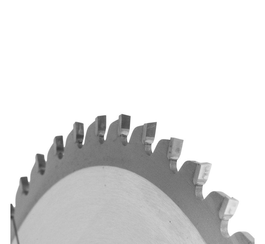 HM crikelzaag BlueLine 210 x 2,6 x 30 mm.  T=48 wisseltand negatief