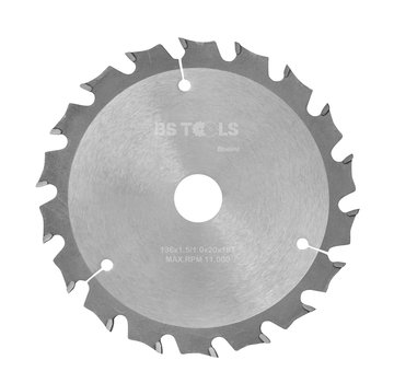 BS tools BlueLine Circular saw BlueLine 136 x 1,5 x 20 mm.  T=18 ATB