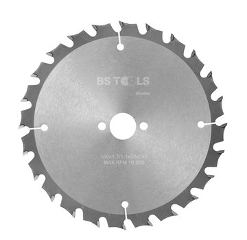 BS tools BlueLine Circular saw BlueLine 160 x 1,7 x 20 mm.  T=24 ATB