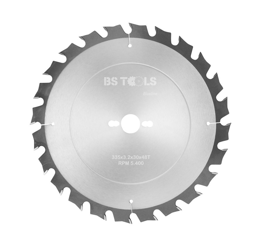 Circular sawblade BlueLine 335 x 3,2 x 30 mm.  T=48 alternate top bevel teeth