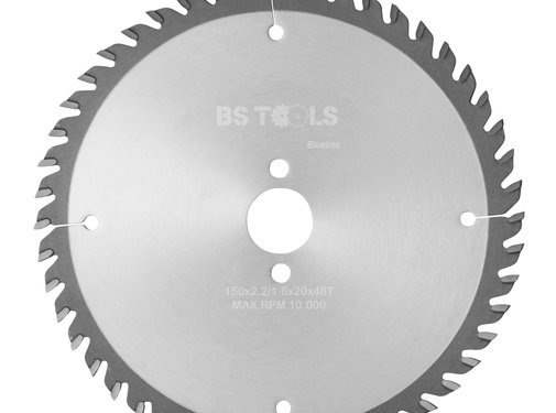 BS tools BlueLine Circular saw BlueLine 150 x 2,2 x 20 mm.  T=48 ATB