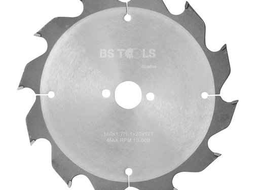 BS tools BlueLine Circular saw BlueLine 160 x 1,7 x 20 mm.  T=12 ATB