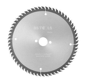 BS tools BlueLine Circular saw BlueLine 160 x 2,2 x 20 mm.  T=60 ATB