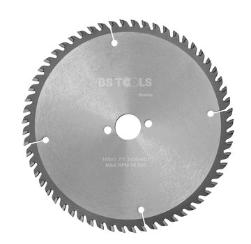 BS tools BlueLine Circular saw BlueLine 165 x 1,7 x 20 mm.  T=60 ATB