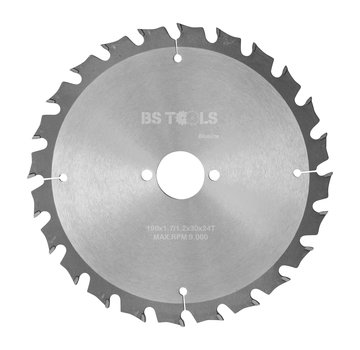 BS tools BlueLine Circular saw BlueLine 190 x 1,7 x 30 mm.  T=24 ATB