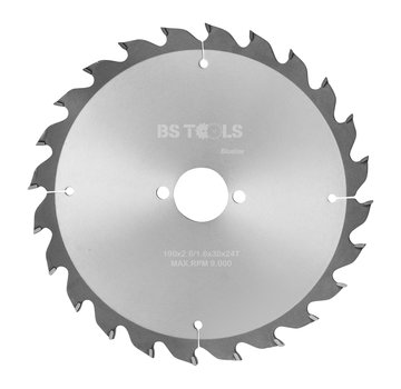 BS tools BlueLine Circular saw BlueLine 190 x 2,8 x 30 mm.  T=24 ATB