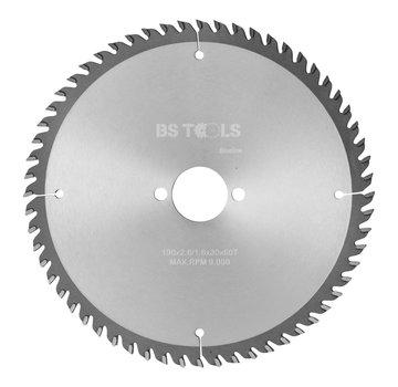 BS tools BlueLine Circular saw BlueLine 190 x 2,8 x 30 mm.  T=60 ATB