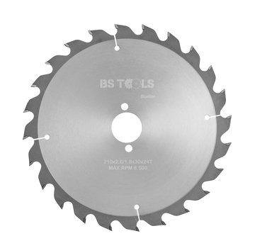 BS tools BlueLine Circular saw BlueLine 210 x 2,6 x 30 mm.  T=24 ATB