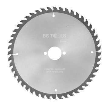 BS tools BlueLine Circular saw BlueLine 210 x 2,6 x 30 mm.  T=48 ATB