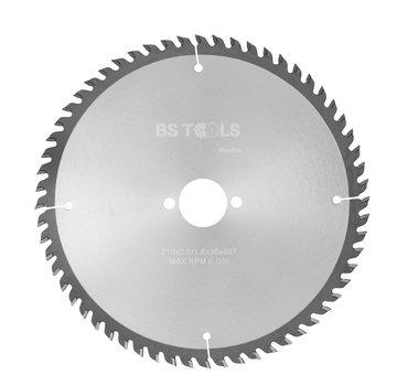 BS tools BlueLine Circular saw BlueLine 210 x 2,6 x 30 mm.  T=60 ATB