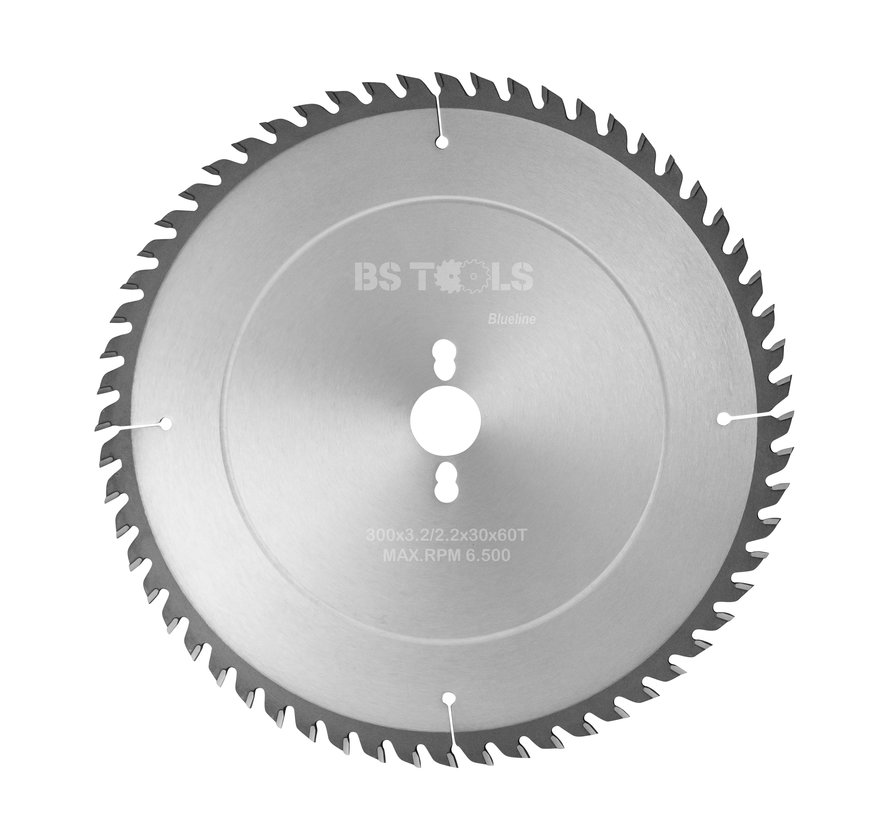 Circular sawblade BlueLine 300 x 3,2 x 30 mm.  T=60 alternate top bevel teeth