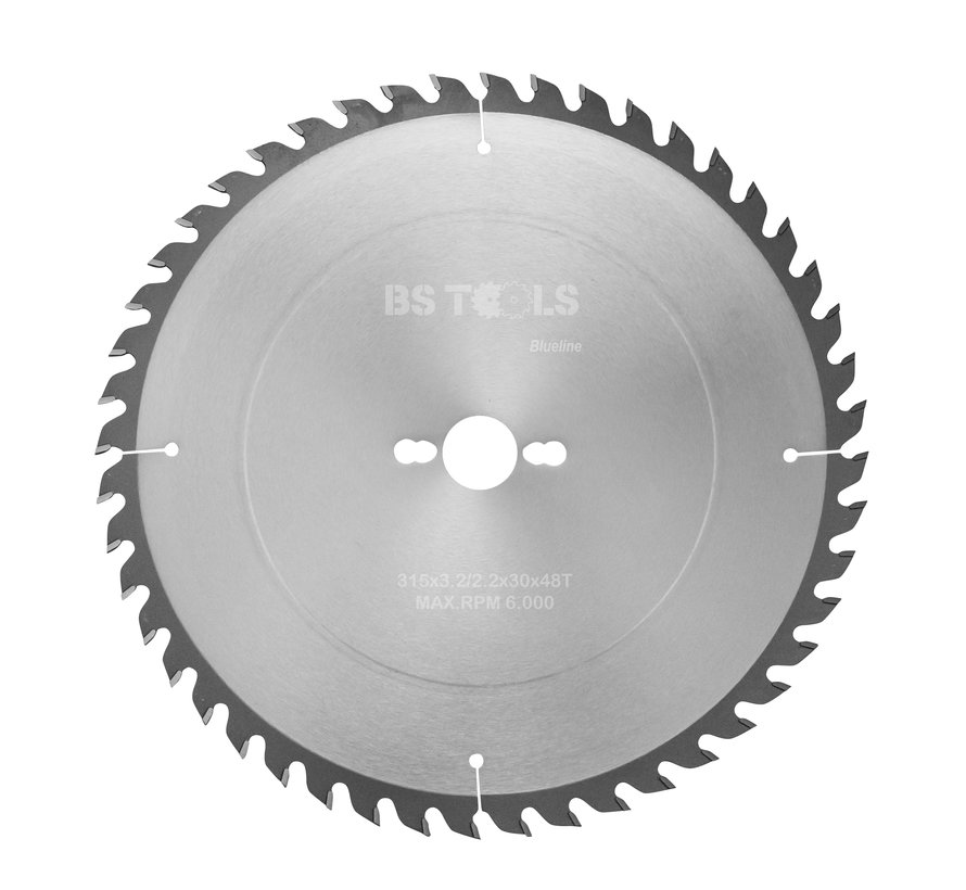 Circular sawblade BlueLine 315 x 3,2 x 30 mm.  T=48 alternate top bevel teeth