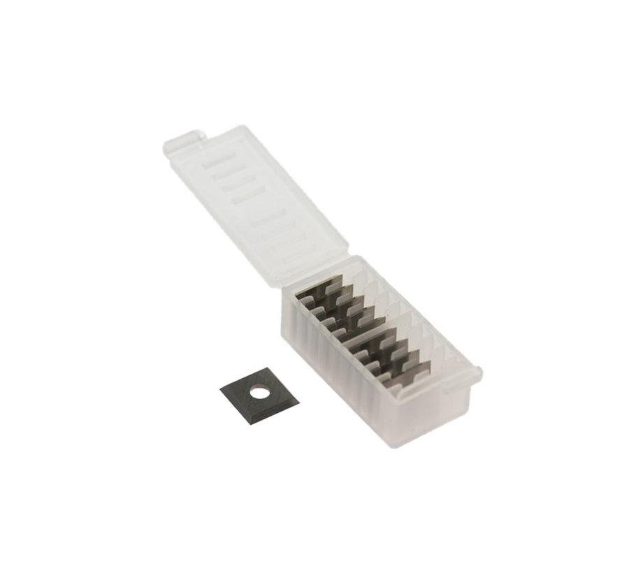 Hartmetall schneidplatten 12 x 12 x 1,5 mm. (10 Stück)