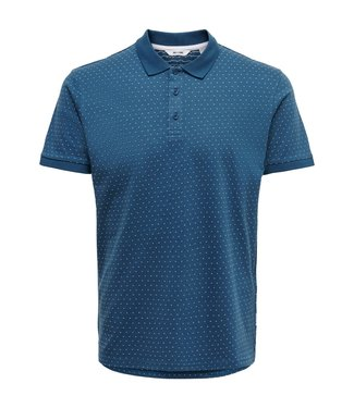 Only & Sons ONSKEEN SLIM SS JAQUARD POLO