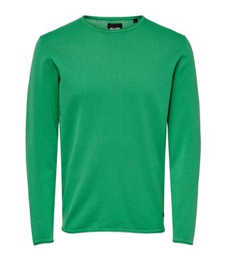 Only & Sons Wash Crew Neck Green