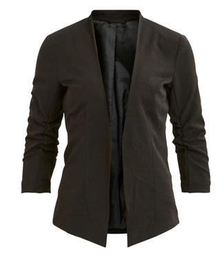 VILA Viher 3/4 New Blazer-Noos Black