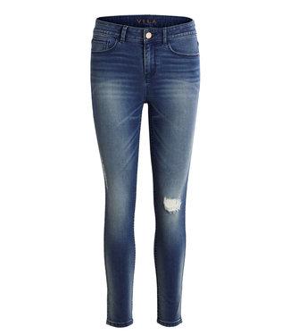 VILA Vicommit Felicia Slim-fit med bleu