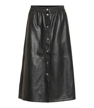 VILA Vipulla Midi Skirt Black