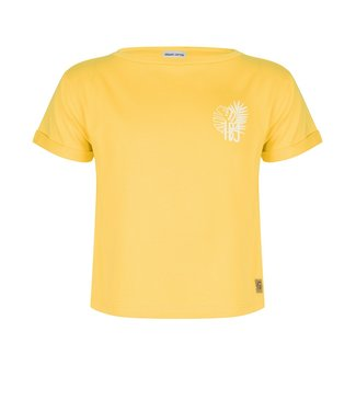 INDIAN BLUE JEANS T-SHIRT SS IBJ YELLOW