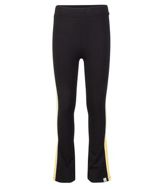 INDIAN BLUE JEANS SPORTY FLARE PANTS BLACK
