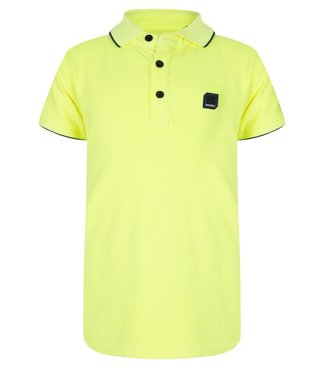 INDIAN BLUE JEANS POLO SS PIQUE LIME