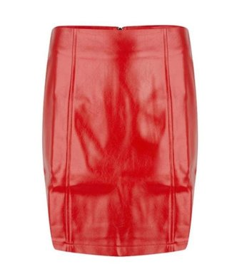 Lofty manners Skirt Malini Red